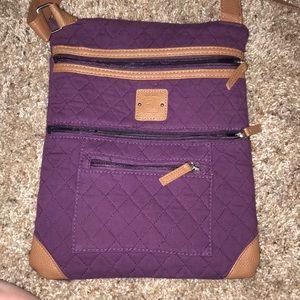 Stone Mountain cross body purse